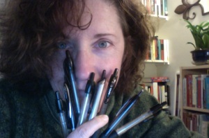 Just a few of my several dozen pens.