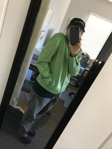 Who knew I needed a pea green bomber jacket?